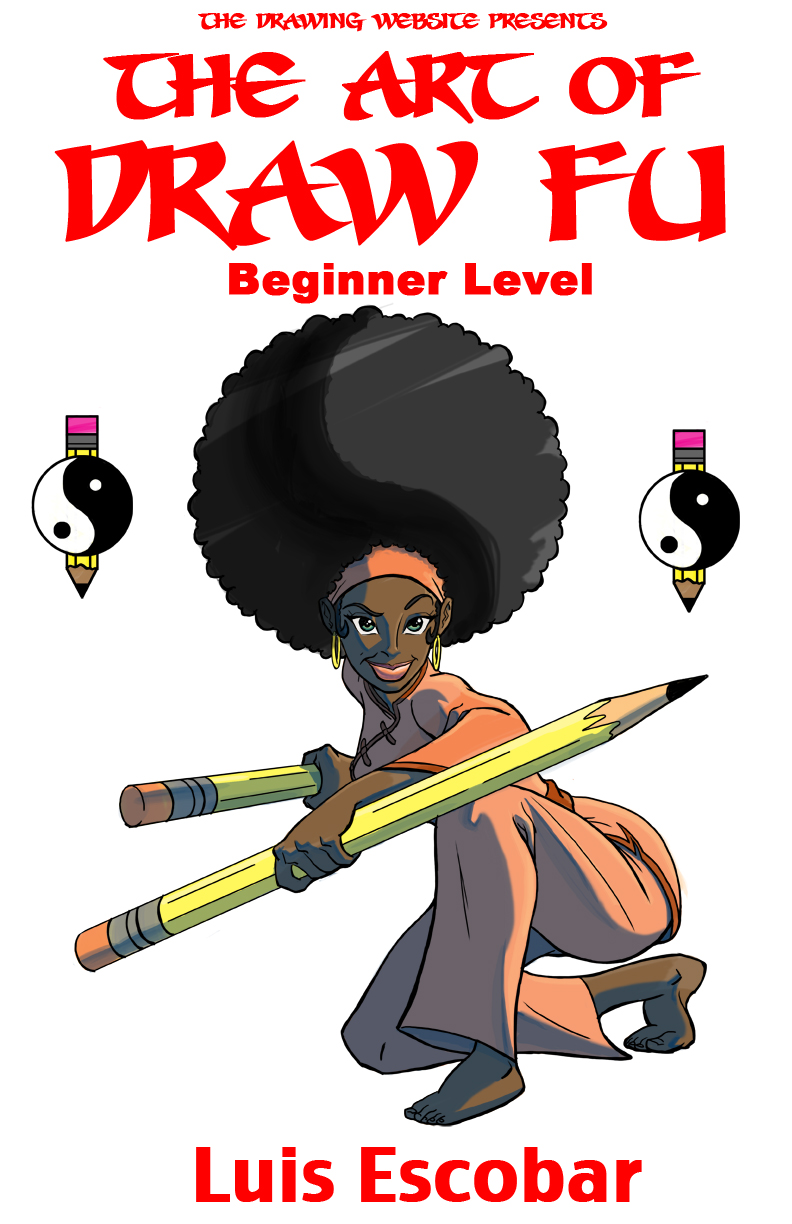 the art of draw fu beginners level print copy signed the