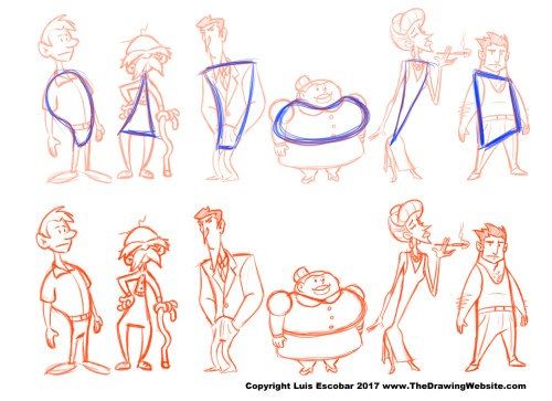Cartoon Body Formulas The Drawing Website