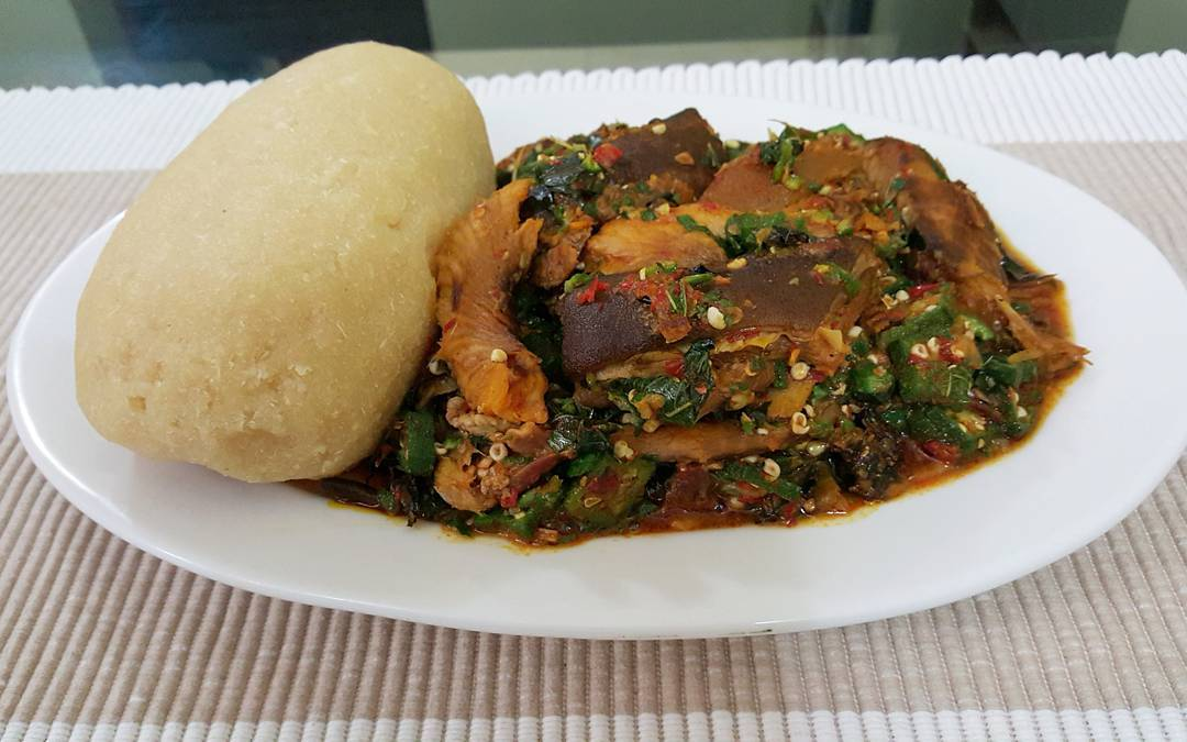 Nigerian Okra Soup Recipe With Assorted Meat Dream Africa