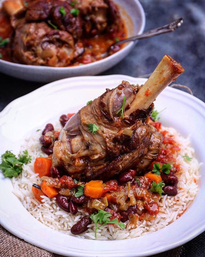 Slow Cooked Lamb Shanks Stew Recipe