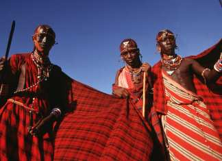 Maasai tribe of africa