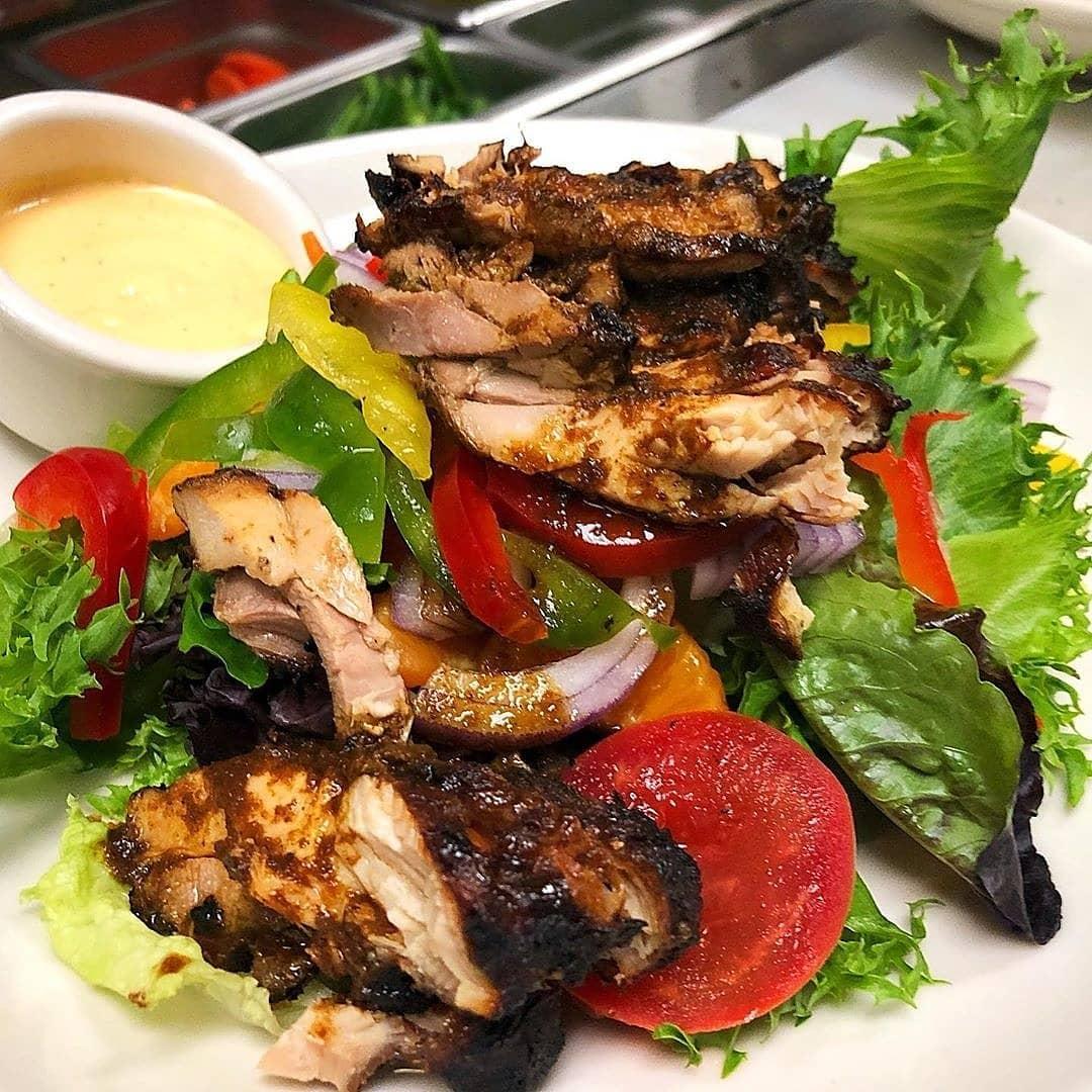 Caribbean Jerk Chicken Salad Recipe Dream Africa