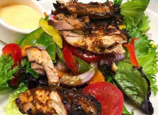jerk chicken salad step-by-step recipe