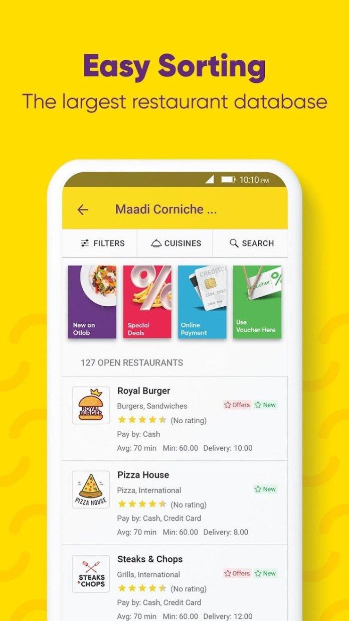 egypt food app