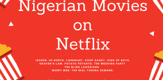 Nollywood (Nigerian) Movies on netflix