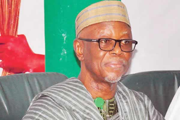National Chairman, All-Progressives Congress, Chief John Odigie Oyegun