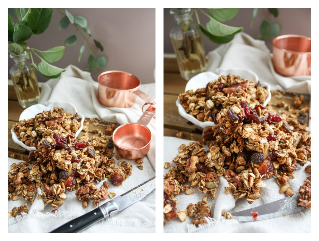 Maple Pumpkin Granola | Dreamery Events