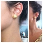 How To {Button Earrings}