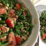 Green Bean Salad with Oats and Avocado