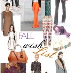 Fall Wardrobe Wish List