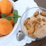Roasted Apricot & Lemon Hibiscus Tea Ice Cream