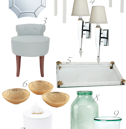Reflect Your Style with One Kings Lane {Transforming the Vanity}