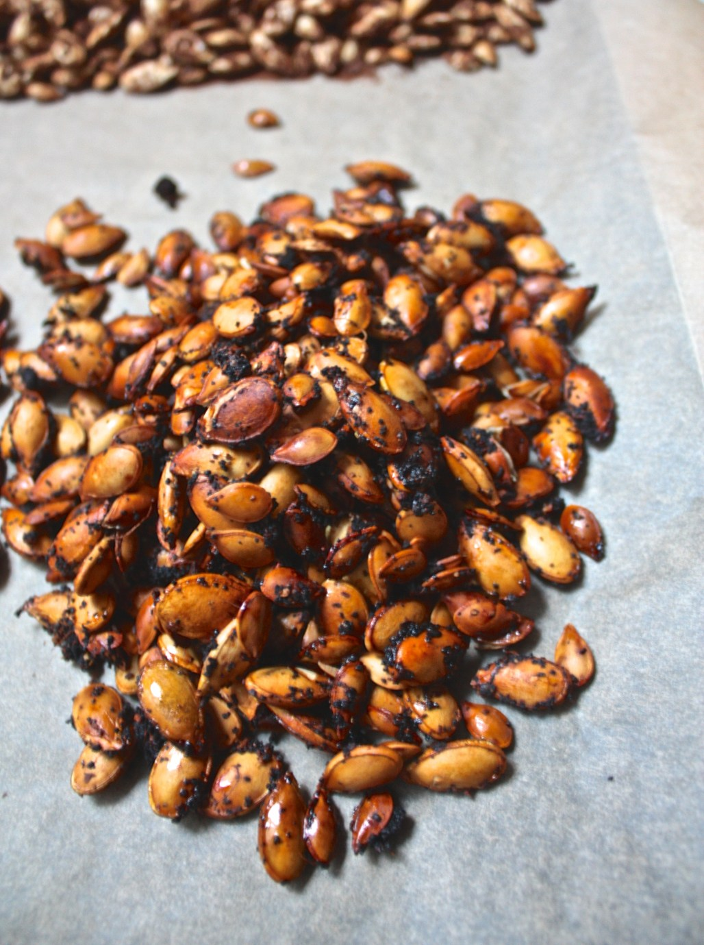 Roasted Squash Seeds: Spiced 3 Ways