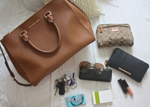 An Organized Handbag