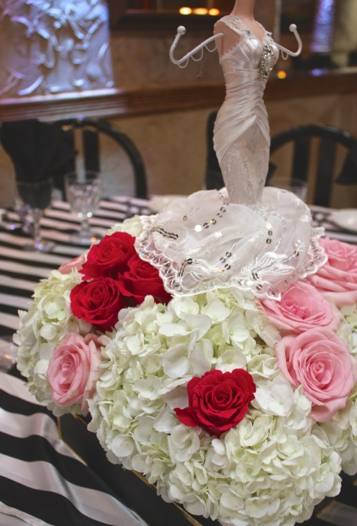 Black, White & Gold Feminine Bridal Shower