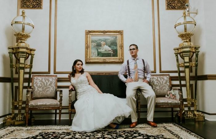 Jenny & Roberto's Gatsby Inspired Wedding