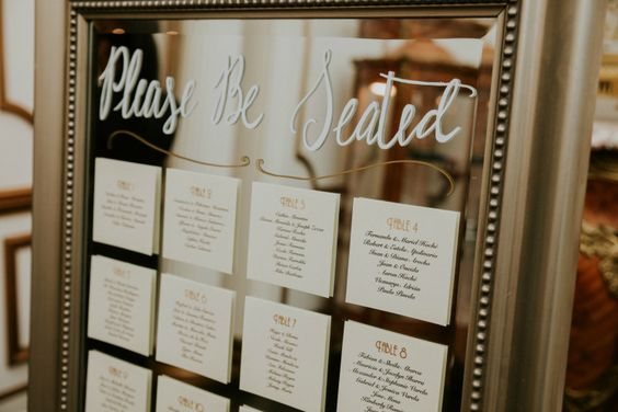 Signs You Need at Your Wedding | Dreamery Events