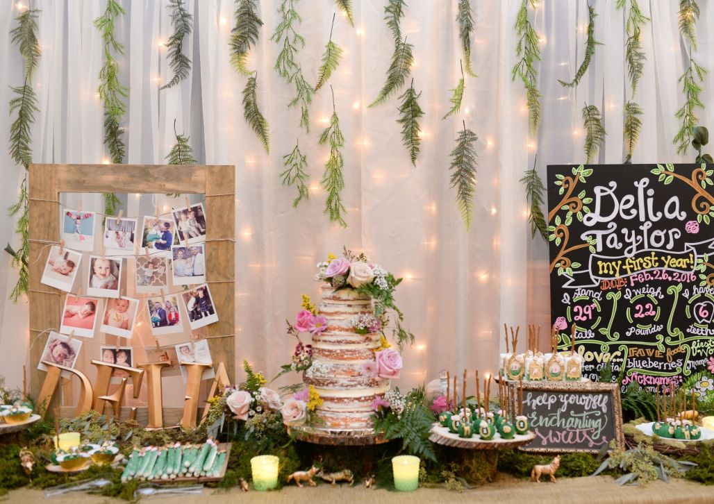 An Enchanted Forest 1st Birthday | Dreamery Events