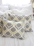 "The Easiest ""No Sew"" Pillow Cover Ever 