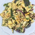 Grilled Summer Squash and Corn Salad