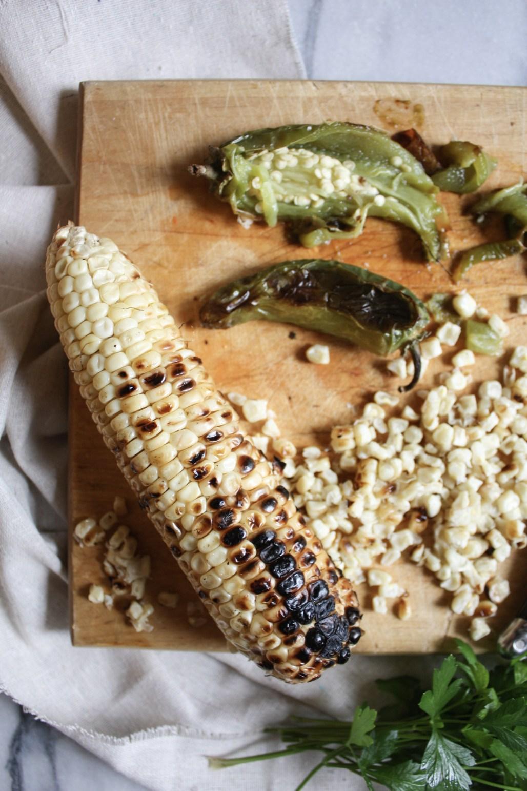 Roasted Corn Black Bean Salsa | Dreamery Events