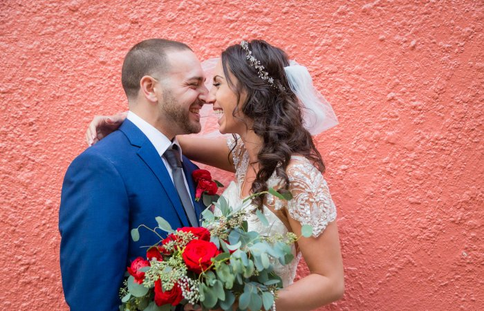 Katie & Daniel's Intimate Little Italy Wedding