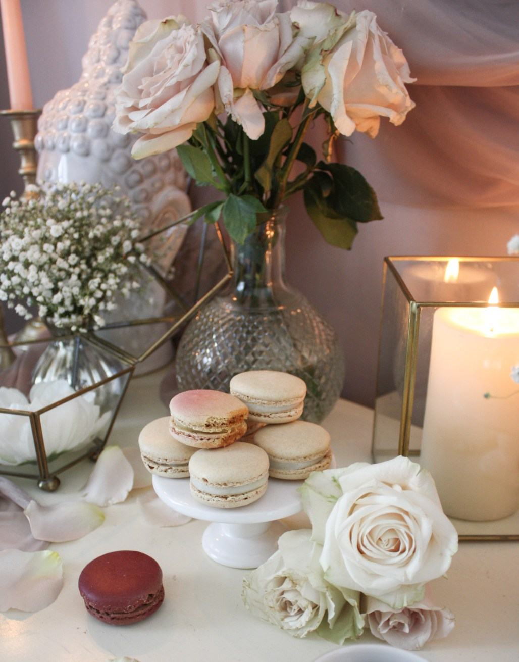 An Elegant & Modern French Macaron Inspired Valentine