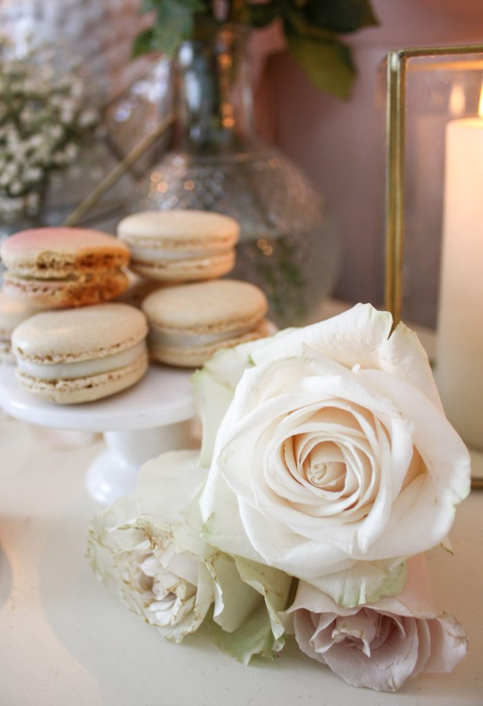 An Elegant & Modern French Macaron Inspired Valentine's Day Styling At Home | Dreamery Events