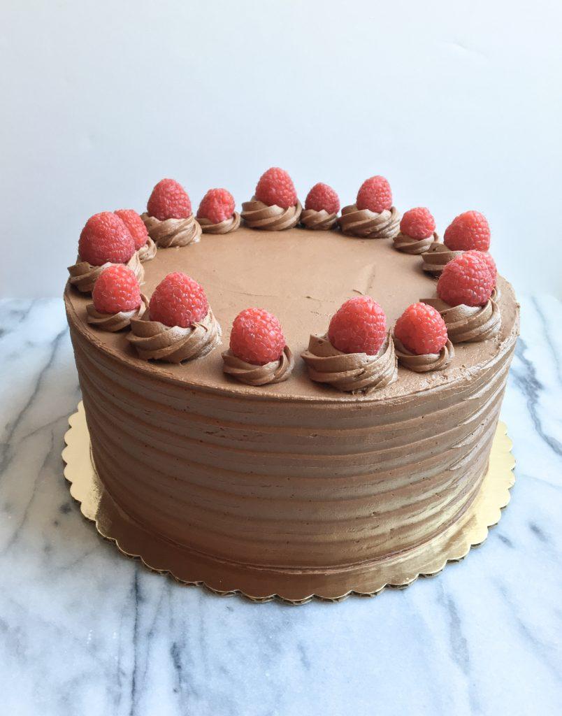 Chocolate Raspberry Cake | Dreamery Events