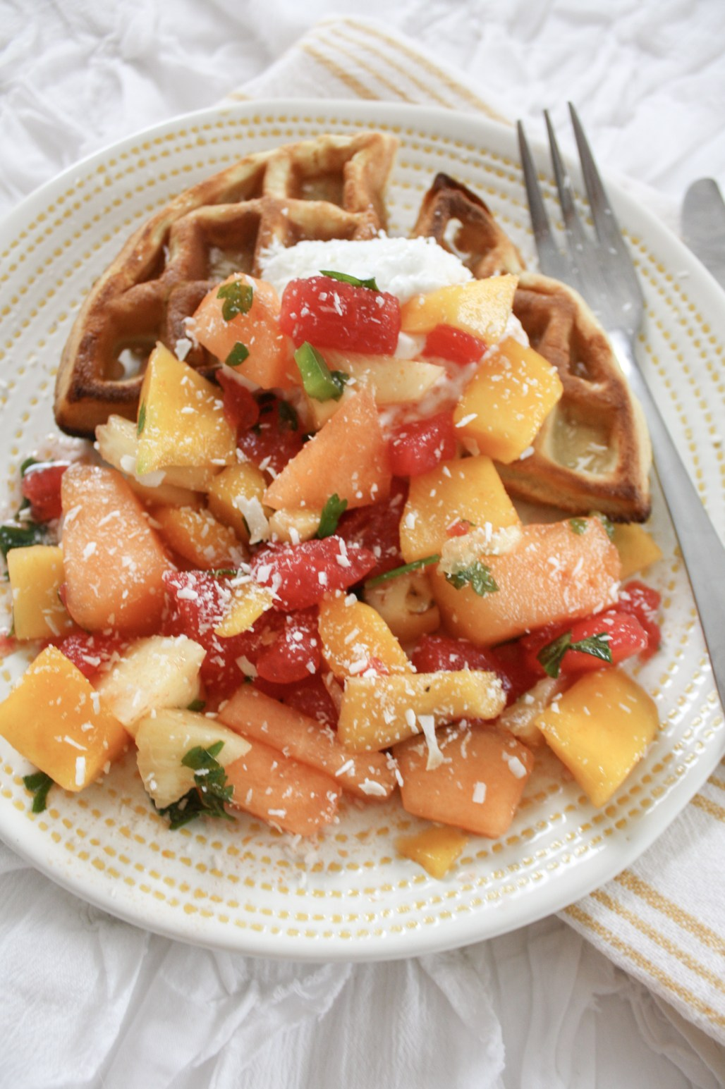Sweet & Savory Summer Fruit Salad | Dreamery Events