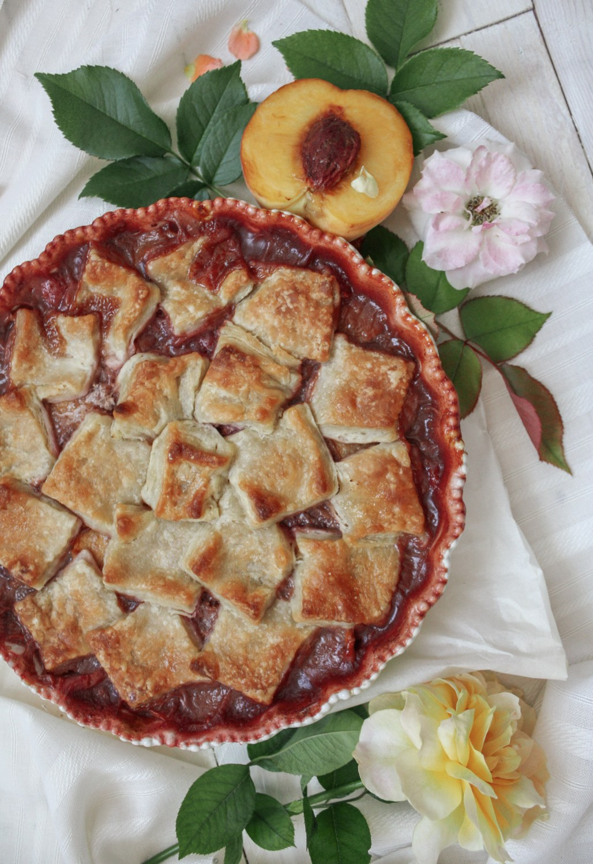 Peach & Raspberry Pandowdy | Dreamery Events