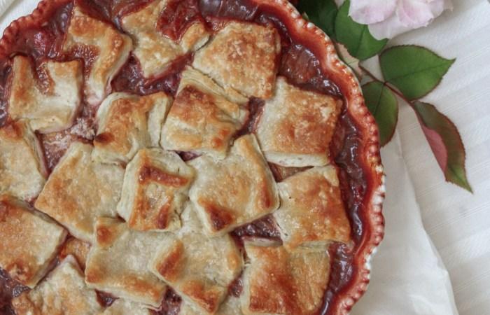 Peach & Raspberry Pandowdy