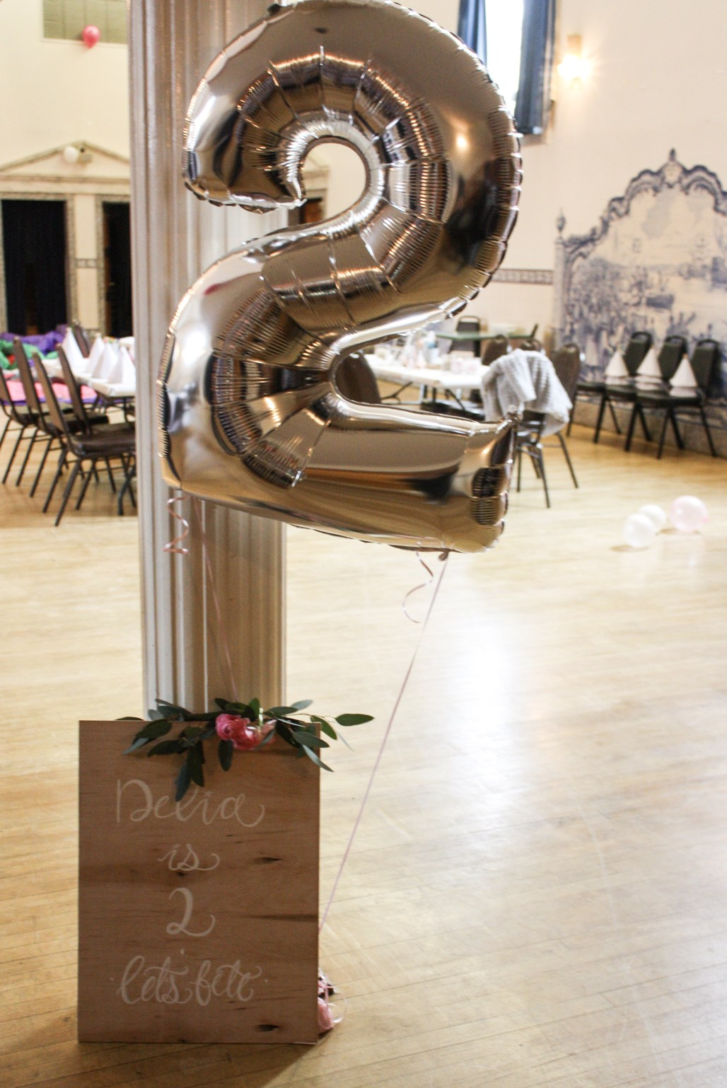 A Bit of Sparkle, A Dashing of Pink & Balloons Galore!   Delia
