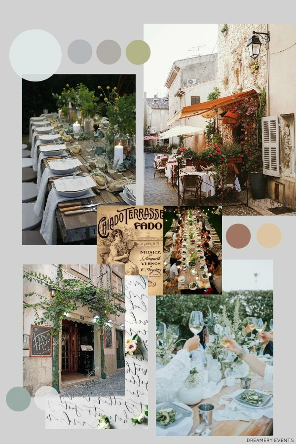A Relaxed European Al Fresco Cafe || An End of Summer Party
