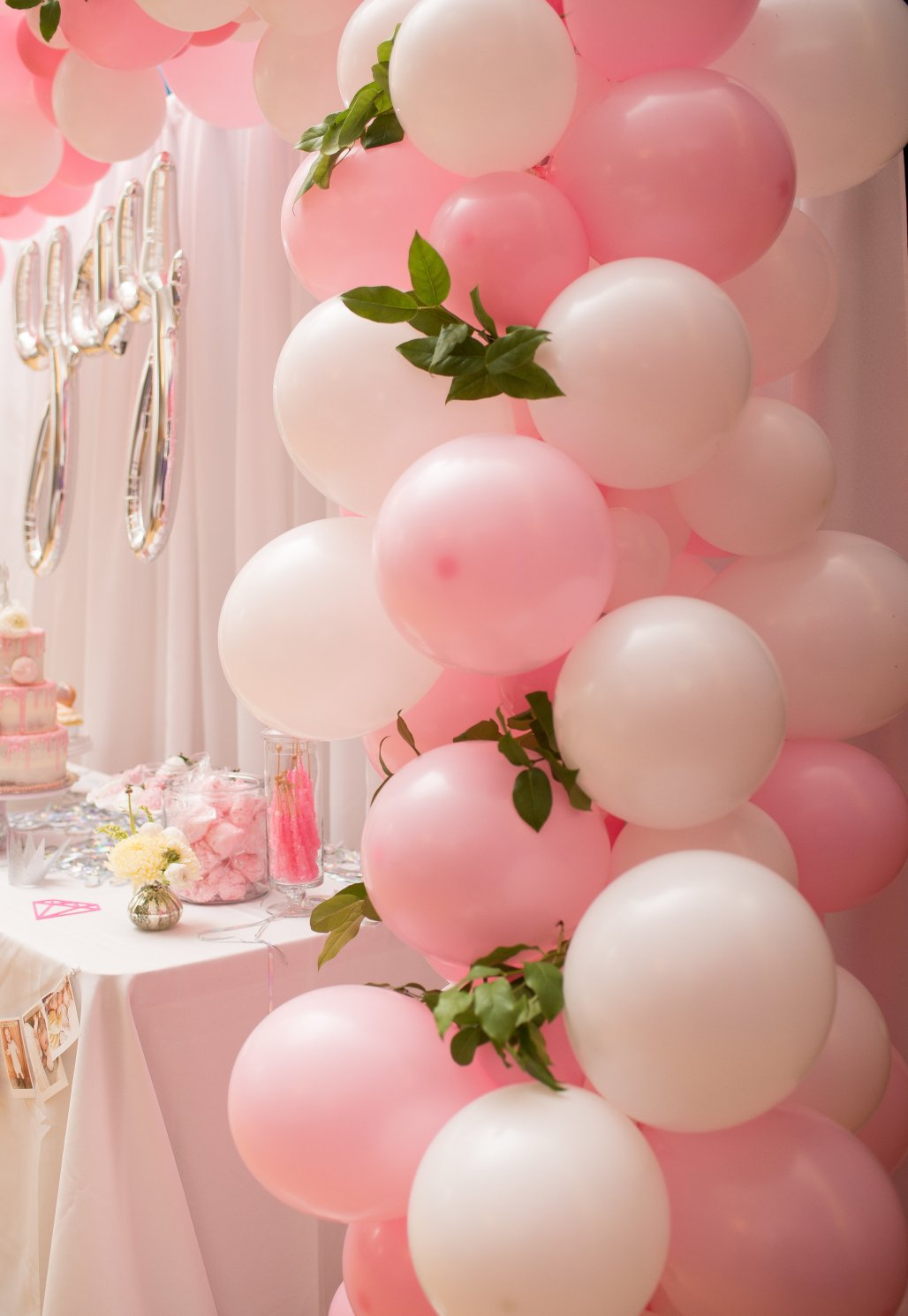 A Bit of Sparkle, A Dashing of Pink & Balloons Galore! | Delia