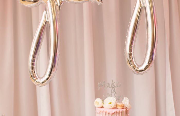 A Bit of Sparkle, A Dashing of Pink & Balloons Galore!   Delia's 2nd Birthday