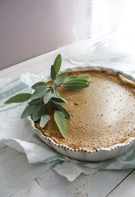 Caramel Pumpkin Pie    Dreamery Events
