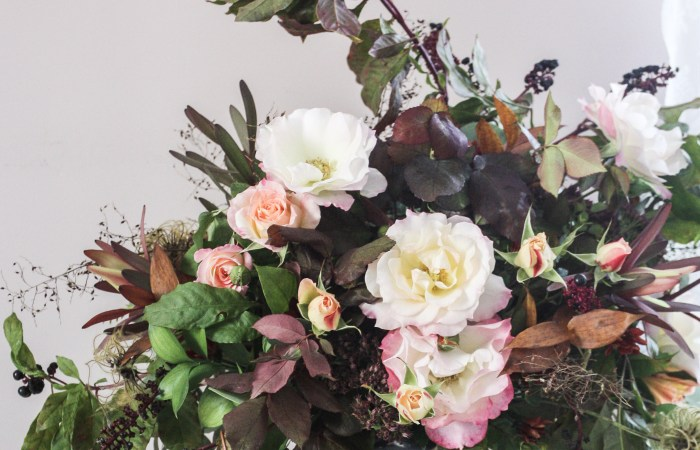 Foraged Blooms || Where Old World Meets Wild Bohemian Autumn