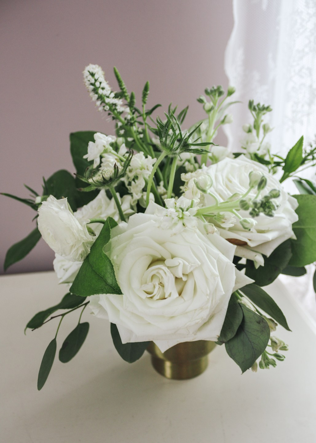 Floral Inspiration :: Greens & Whites for Any Season of the Year || Dreamery Events