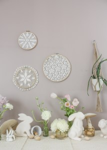 A Minimalist Boho Easter Tablescape    Dreamery Events