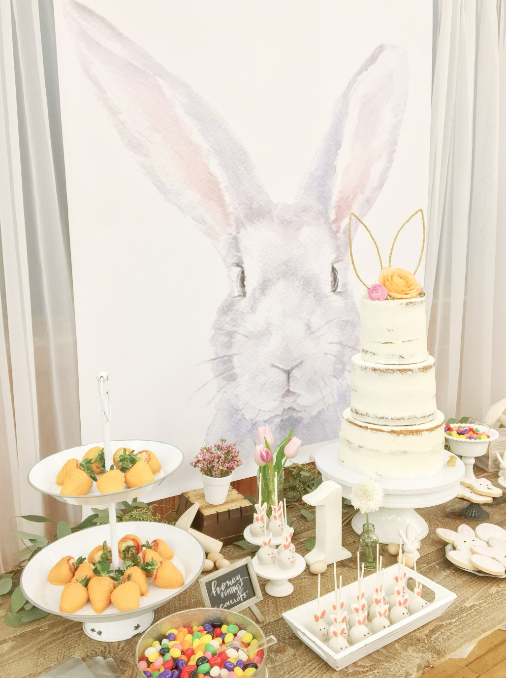 """Some Bunny is One"" Birthday Celebration 