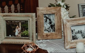 Nicole & Jerry's Boho Garden Wedding at The Oakeside Mansion || Dreamery Events