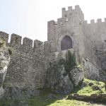 Medieval Castle Walls with Cobblestone Alleys Forever Marked of History & Culture || Óbidos, Portugal