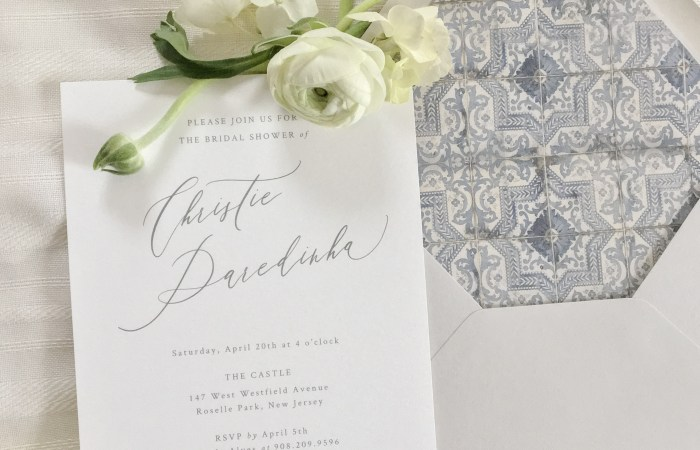 A Bridal Shower Inspired By Vintage Portuguese Details + Traditional Tiles