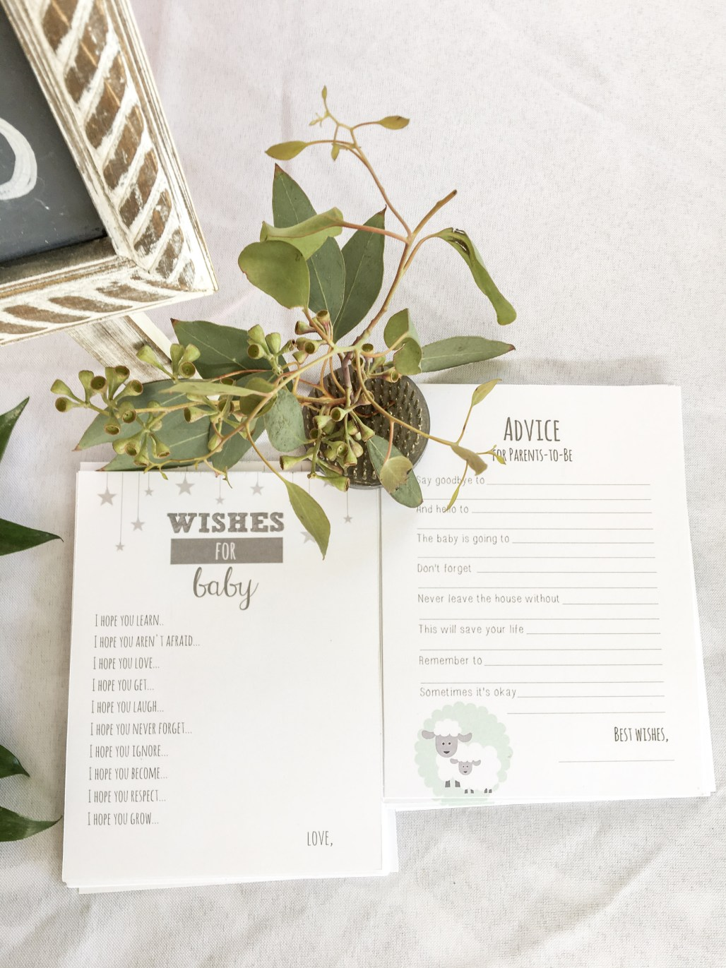 """Sweet + Simple """"Baby in Bloom"""" Shower Ideas Anyone Can Put Together 