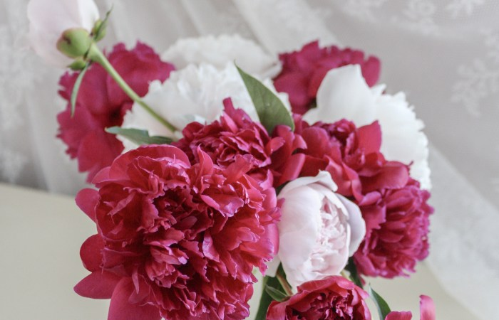 Floral Inspiration :: Natural Carefree Beauty of Peonies