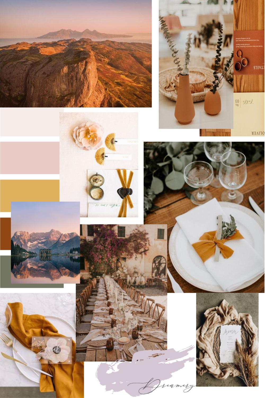 Autumn Vibes :: Golden Dessert Sunset || Dreamery Events