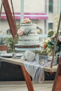 A Darling Baby Shower Inspired by the stories of Peter Rabbit with a Dessert Display Swing handmade by Dada || Dreamery Events