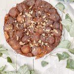 Salted Caramel Walnut Tarte Tatin