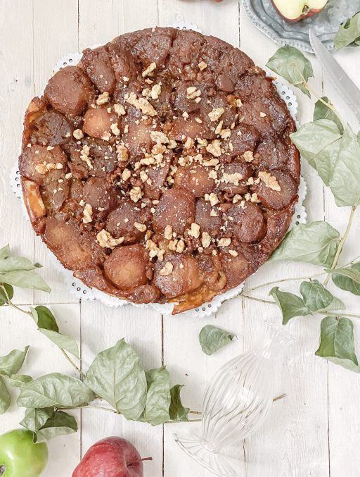 Caramel Walnut Tarte Tatin || Dreamery Events